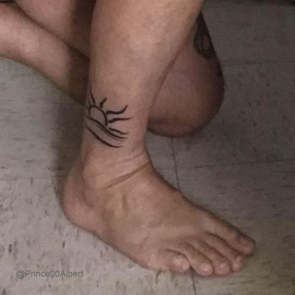 Tattoo of the Naturist Symbol