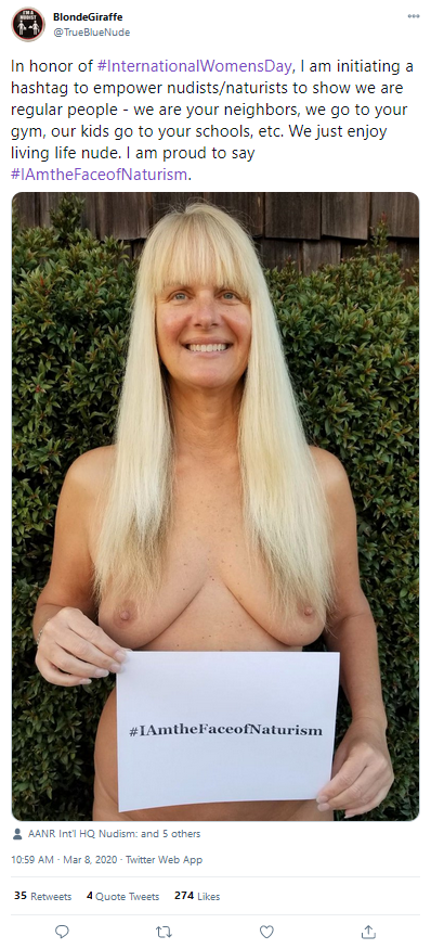 2020-03-08 I am the face of naturism
