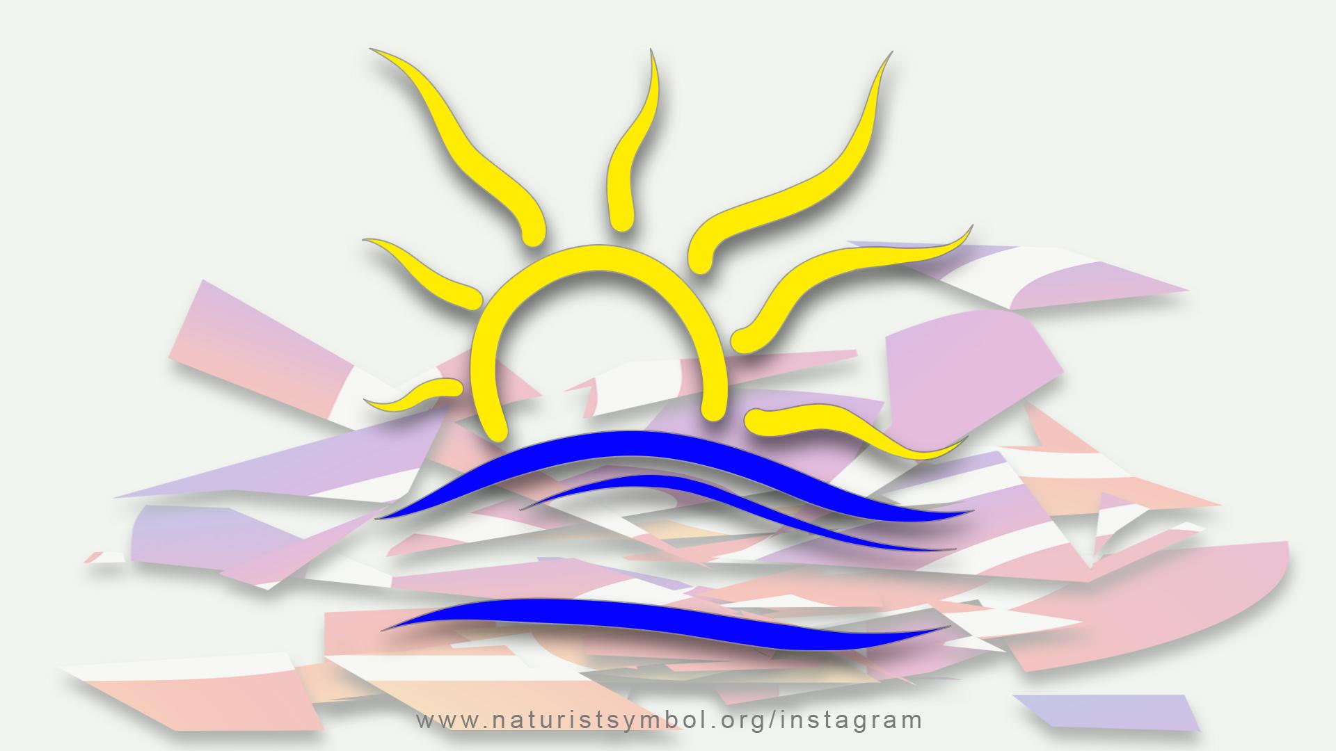 naturist symbol instagram
