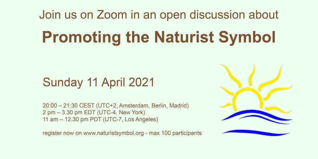 Promoting the Naturist Symbol